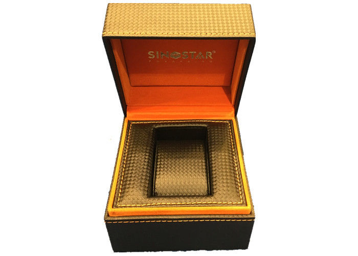 High End  Watch Jewelry Box Durable , Dustproof Watch Gift Box With Pillow