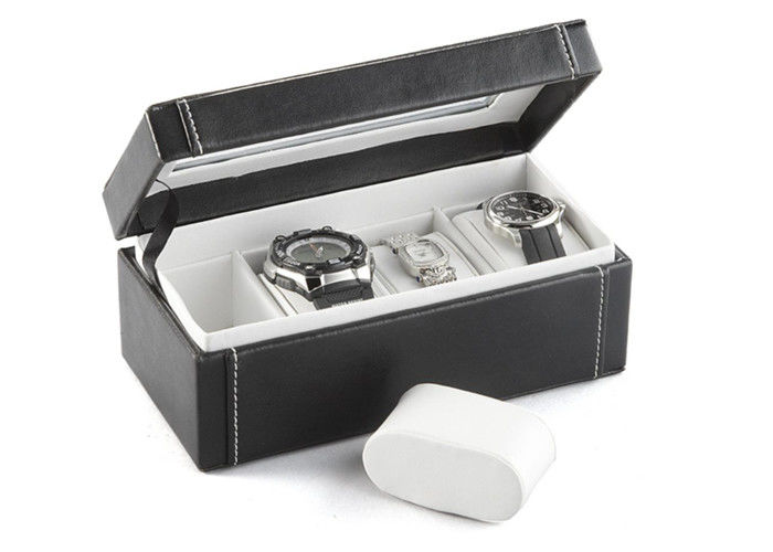 High End Multiple Watch Storage Box Leather Eco - Friendly For Men'S Watches